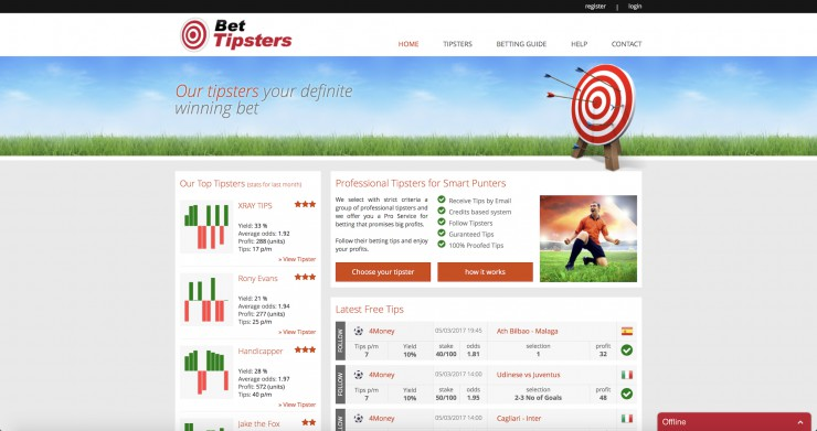 E-commerce  Web Design - www.bet-tipsters.com