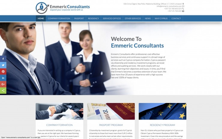 Law - Financial Web Design - www.emmeric-consultants.com